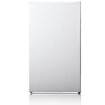 Midea HS121L Half/Full Width Single Section Compact Refrigerator, White