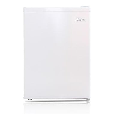 Midea HS87L Full Width Single Section Compact Refrigerator, White