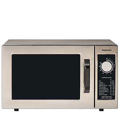 Panasonic 0.8 cu. ft. Commercial Microwave Oven, Stainless Steel (NE1025F)