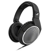Sennheiser HD 471G Stereo Over-the-Head Headphones with Mic, Black/Silver