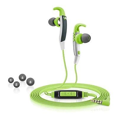 Sennheiser CX 686G Sports In-Ear Earphones with Mic; Green