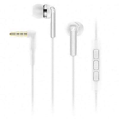 Sennheiser CX2.00G In-Ear Headset with Mic, White