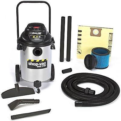 Shop-Vac® Right Stuff Wet/Dry Vacuum, Silver/Black (9626510)