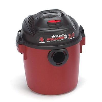 Shop-Vac® BullDog® Portable Wet/Dry Vacuum, Red/Black (5850300)