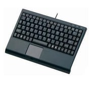 Solidtek® KB-3910BL USB Wired Mini Keyboard for Computer, Black