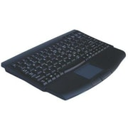 Solidtek® KB-540 USB QWERTY Mini Keyboard, Wired, Black