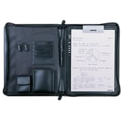Solidtek® PF-200 Acecad Deluxe Leather Zip Portfolio for Select ACECAD DigiMemo