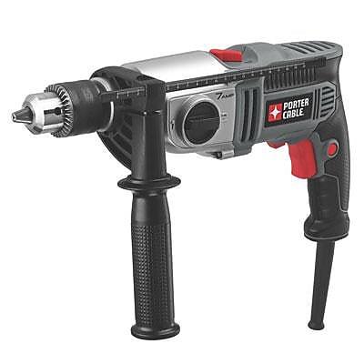 Porter Cable® Variable Speed Reversing 2 Speed Hammer Drill, 1/2