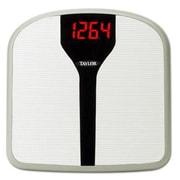 Taylor Superbrite™ 9857 LED Electronic Digital Bath Scale, Black, 330 lbs.