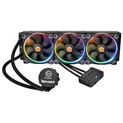 Thermaltake® Water 3.0 Riing RGB 360 Liquid CPU Cooler (CL-W108-PL12SW-A)