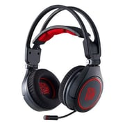 Thermaltake® HTCRAANECBK14 CRONOS AD Stereo Over-the-Head Gaming Headset with Mic, Diamond Black