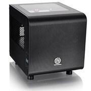 Thermaltake® Core V1 Window Mini Cube Computer Chassis, 4xBay, for Mini ITX Motherboard (CA-1B8-00S1WN-00)