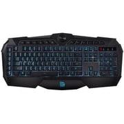 Thermaltake® Tt eSPORTS® CHALLENGER KBCHMMBBLUS01 Prime Keyboard, Black