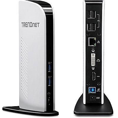 TRENDnet TU3DS2 Universal USB 3.0 Docking Station