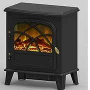 "World Marketing Comfort Glow™ Warrington Electric Stove, 20 1/4"" x 12"" x 22 3/4"", Black (ES4840)"