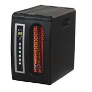 World Marketing Comfort Glow™ 1500 W Comfort Furnace, Black (QDE1320)