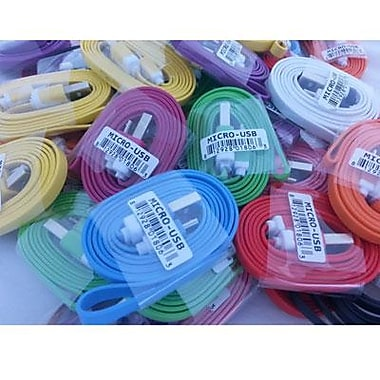 Professional Cable 1 m Micro USB Cable; Assorted (MICROUSB50)