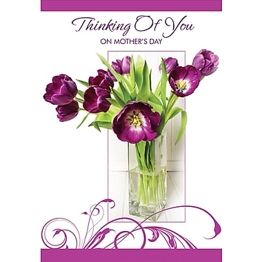 Millbrook Thinking of You Greeting Card, 18/Pack, (23622)