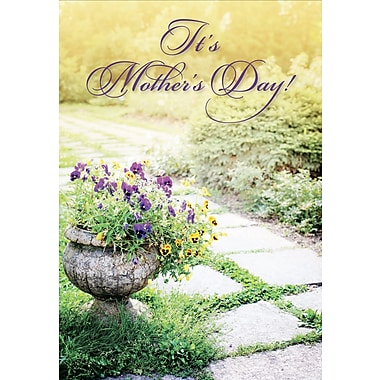 Millbrook It's Mother's Day Greeting Card, 18/Pack, (23578)
