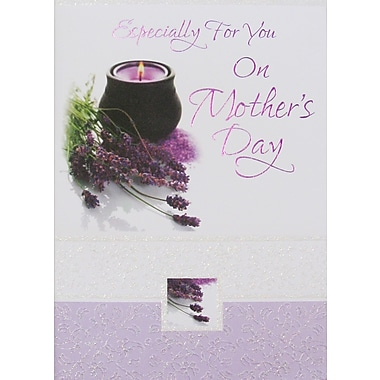 Rosedale Especially For You Greeting Card, Candle, 12/Pack, (39950)