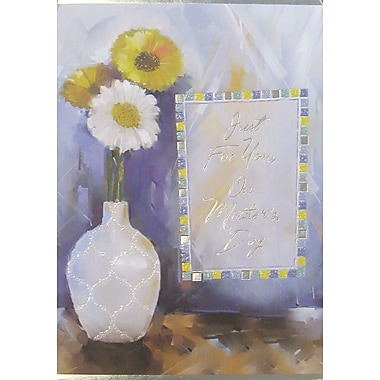 Rosedale Just for You on Mother's Day Greeting Card, 12/Pack, (39960)