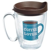Tervis Tumbler Eat Drink Be Merry I Love Coffee Plastic Every Day Glass; Yes