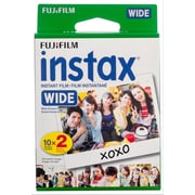 Fujifilm Instax Wide Film, 20 Exposures, 2/Pack