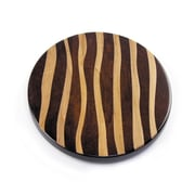 Martins Homewares Artisan Woods Wavy Stripe Lazy Susan