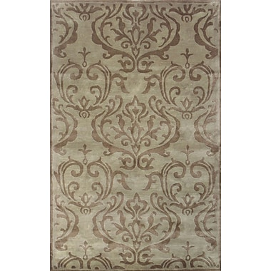 MOTI Rugs Broadway Hand-Tufted Beige Area Rug; 8' x 11'