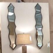 Teton Home Metal Wall Mirror (Set of 2)