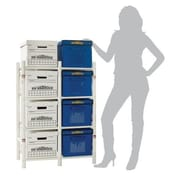 Bin Warehouse 11'' H Eight Shelf Shelving Unit Add-on