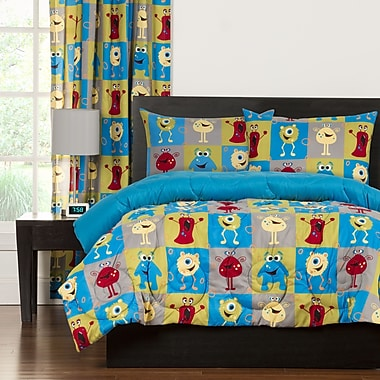 Crayola Crayola Monster Friends Comforter Set; Full/Queen