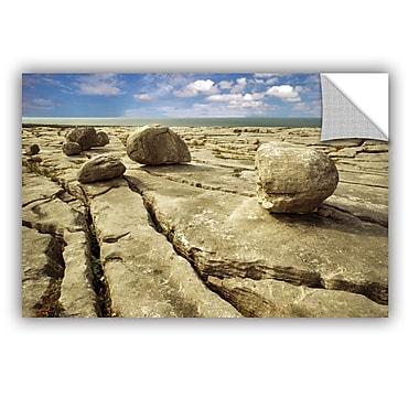 ArtWall Boulders by Dennis Frates Wall Mural; 12'' H x 18'' W x 0.1'' D