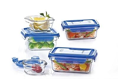 Glasslock 5 Container Food Storage Set WYF078278669983