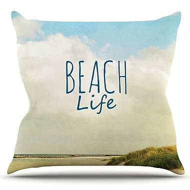 KESS InHouse Beach Life by Iris Lehnhardt Outdoor Throw Pillow