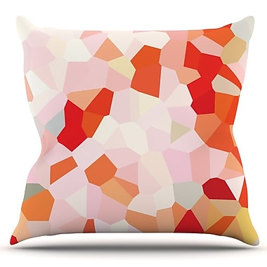 KESS InHouse Oooh La La by Iris Lehnhardt Outdoor Throw Pillow