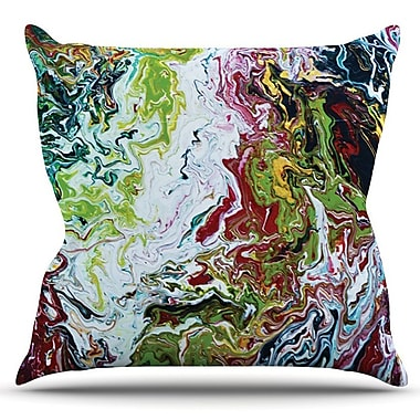 KESS InHouse Chaos by Claire Day Outdoor Throw Pillow