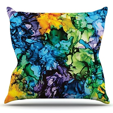 KESS InHouse Gra Siorai by Claire Day Outdoor Throw Pillow