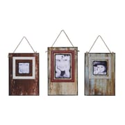 Creative Co-Op 3 Piece MDF Wall Picture Frame Set
