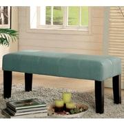 Hokku Designs Bury Wood Bench; Blue