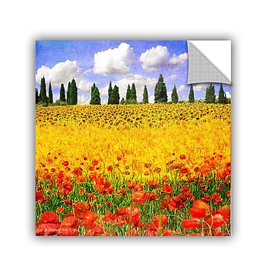 ArtWall Lombardy by Chris Vest Wall Mural; 14'' H x 14'' W x 0.1'' D