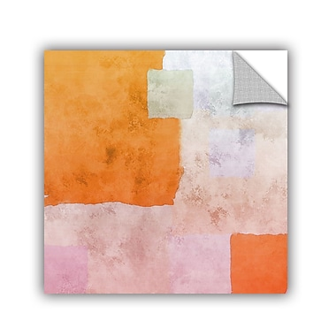 ArtWall Abstract Squares I by Irena Orlov Wall Mural; 18'' H x 18'' W x 0.1'' D