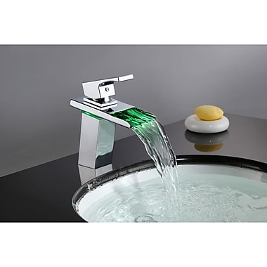 Sumerain Single Handle Single Hole Waterfall Faucet