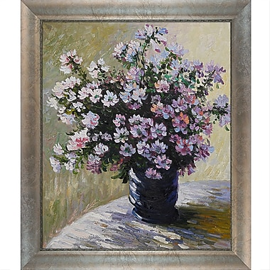Tori Home Vase of Flowers by Claude Monet Framed painting