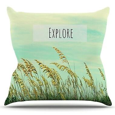 KESS InHouse Explore by Robin Dickinson Outdoor Throw Pillow