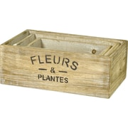 Boston International 3-Piece Plywood Planter Box Set