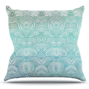 KESS InHouse Clouds in the Sky by Pom Graphic Design Outdoor Throw Pillow