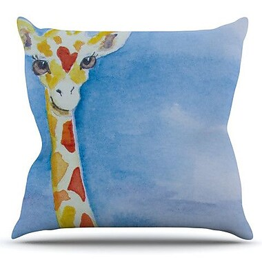 KESS InHouse Topsy by Padgett Mason Outdoor Throw Pillow
