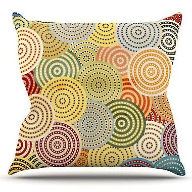 KESS InHouse Matias Girl by Danny Ivan Outdoor Throw Pillow