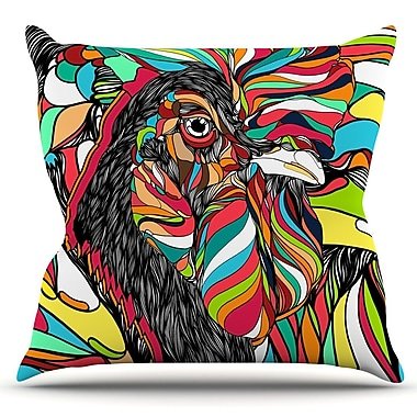 KESS InHouse Tropical by Danny Ivan Outdoor Throw Pillow